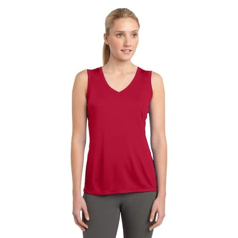 One Country United Women's Sleeveless Posi-Charge V-Neck Tee