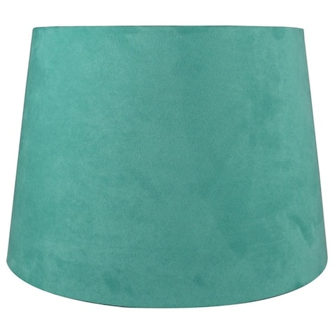 Suede Hardback Lamp Shade, 10 inch Top, 12 inch Bottom, 8.5 inch Slant