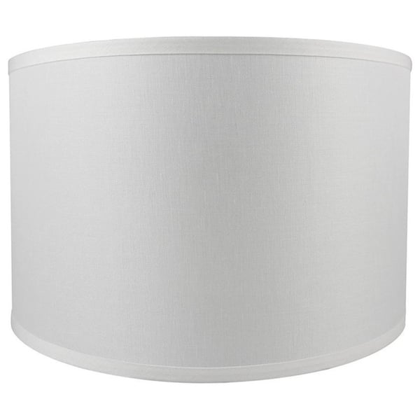 Classic Drum Smooth Linen Lamp Shade 8 To 16 Bottom Size On Sale Overstock 30786021