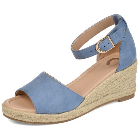 Journey + Crew Womens Wedge Sandal by  Best