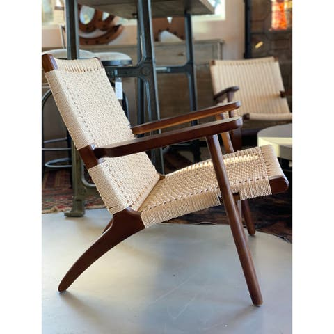 Papercord Easy Chair - Walnut