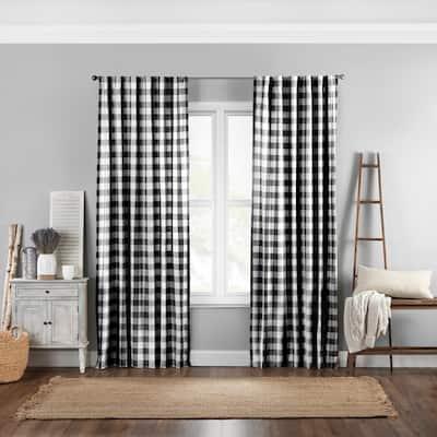 The Gray Barn Waddeson Farmhouse Buffalo Check Window Curtain