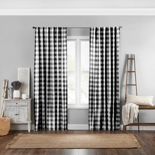 Link to The Gray Barn Waddeson Farmhouse Buffalo Check Window Curtain Similar Items in Classic Rugs