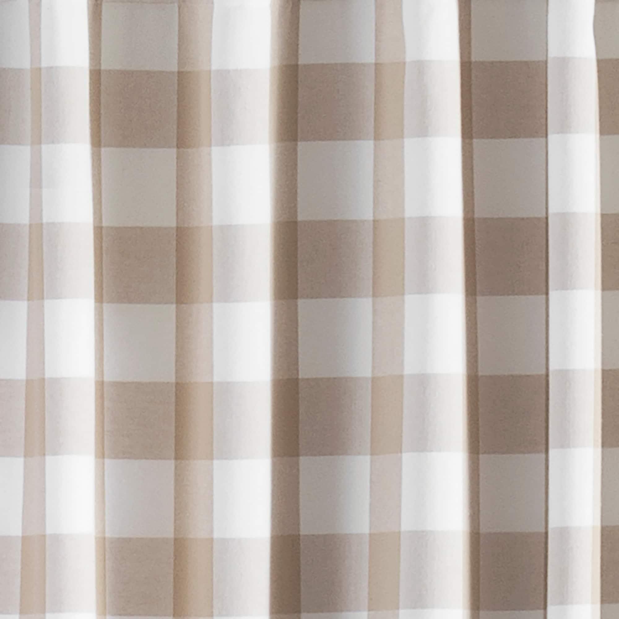The Gray Barn Waddeson Farmhouse Buffalo Check Window Curtain On Sale Overstock 30786691