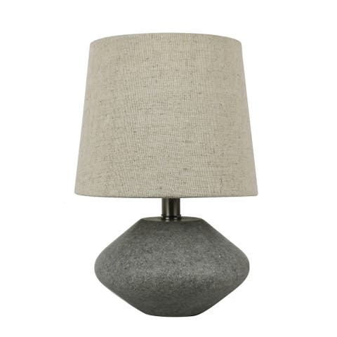 Natural Stone 9-inch Accent Table Lamp
