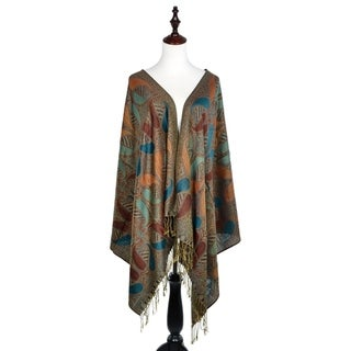 "Link to Women Reversible Paisley Pashmina Shawl Wrap -72"" x 27"" Similar Items in Scarves & Wraps"