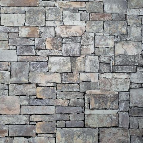 Wallpaper textured purple orange gray modern faux stone textures