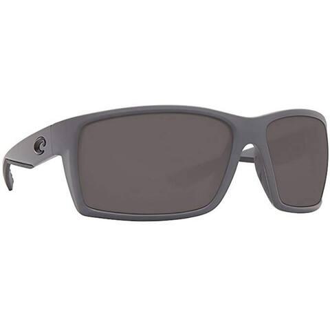 Costa Del Mar Tuna Alley Sunglasses, Blue Mirror 580 Glass Lens