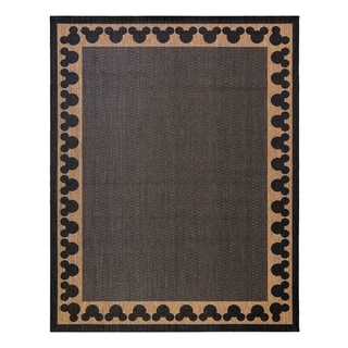 "Disney Mickey Mouse Chestnut (8'9""x13') Area Rug by Gertmenian"