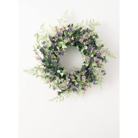 Mix Lavender Wreath