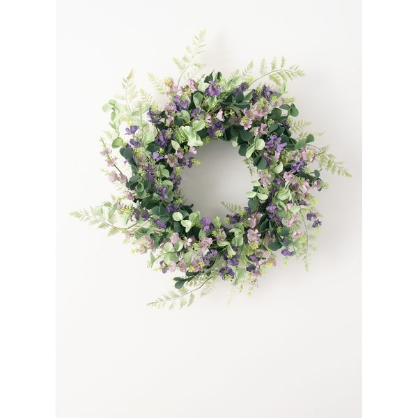 Mix Lavender Wreath. Opens flyout.