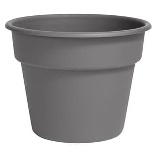 "Link to Bloem Dura Cotta Planter 10"" Charcoal Gray - 10 Similar Items in Gardening"