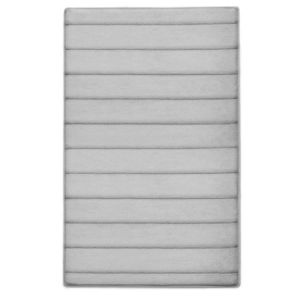 """MICRODRY® Ultra Absorbent CoreTex Memory Foam Bath Mat with GripTex Skid-Resistant Base, 21"""" x 34"""". Opens flyout."""