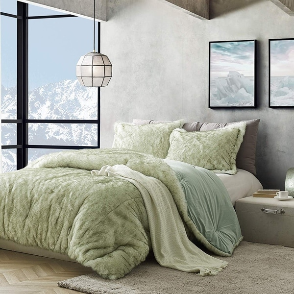 Coma Inducer Oversized Comforter - Arctic Moss - Tundra Green. Opens flyout.