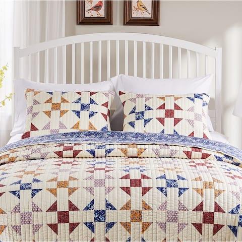Porch & Den Koll Parkway Geometric Pillow Sham Set (Set of 2)