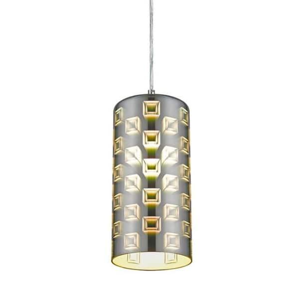 Rickard 1 Light Single Cylinder Pendant On Sale Overstock 30792937