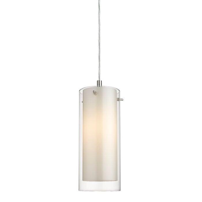 Wilen 1 Light Single Cylinder Pendant Overstock 30792957