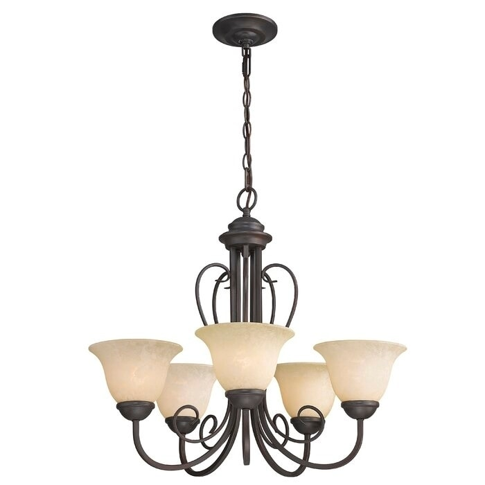 Lorin 5 Light Shaded Classic Traditional Chandelier On Sale Overstock 30792973