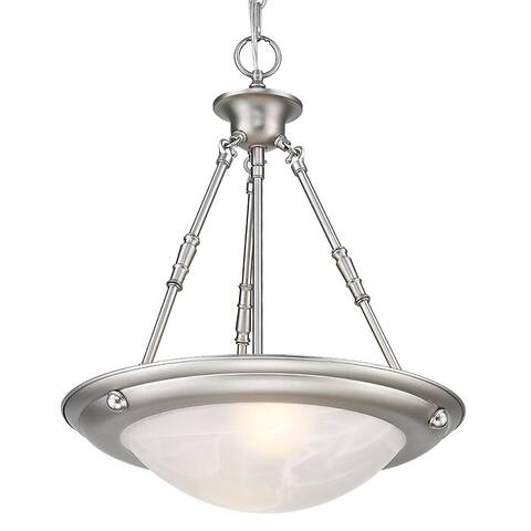Landulf 2 - Light Unique / Statement Bowl Pendant