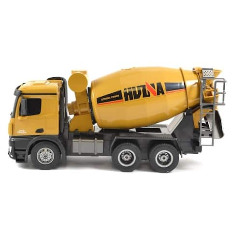 Remote control cement mixer