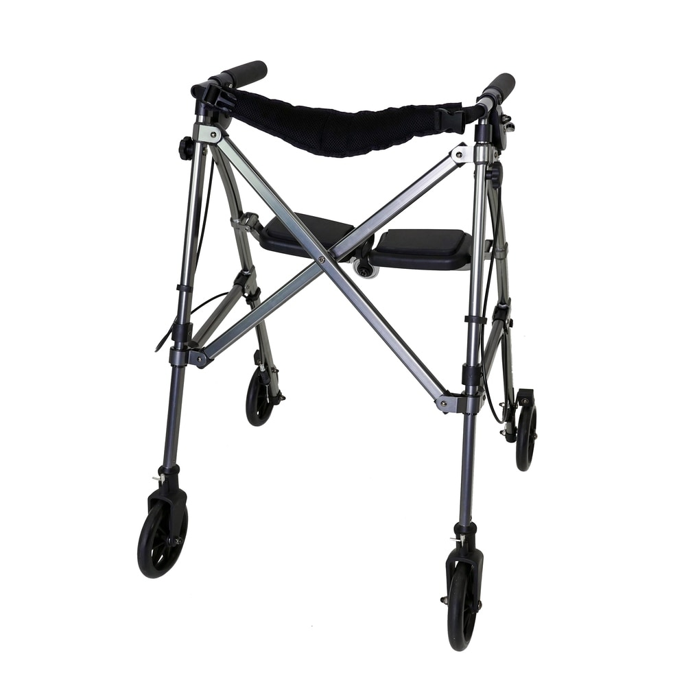 Space Saver Rollator in Blue (As Is Item) (Blue)
