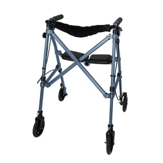 Space Saver Rollator (Blue)