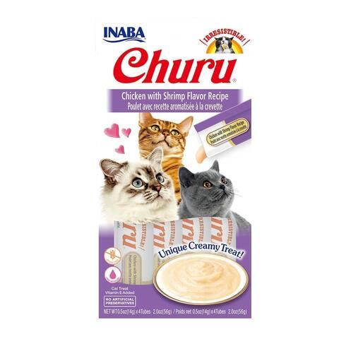 Creamy Chicken w/ Shrimp Cat Treat w/ Vitamin E, 2 oz