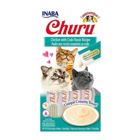 Creamy Chicken w/ Crab Cat Treat w/ Vitamin E, 2 oz