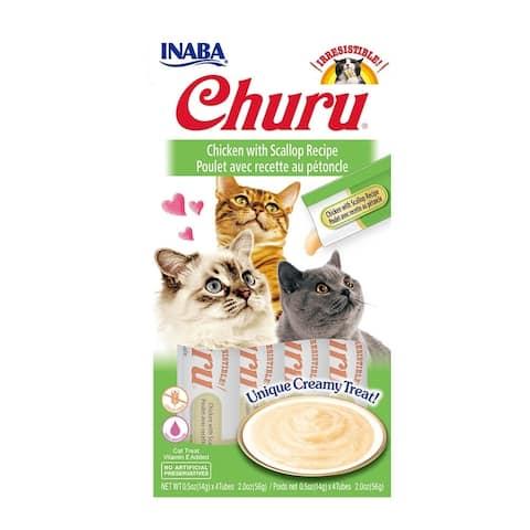 Creamy Chicken & Scallop Cat Treat w/ Vitamin E, 2 oz