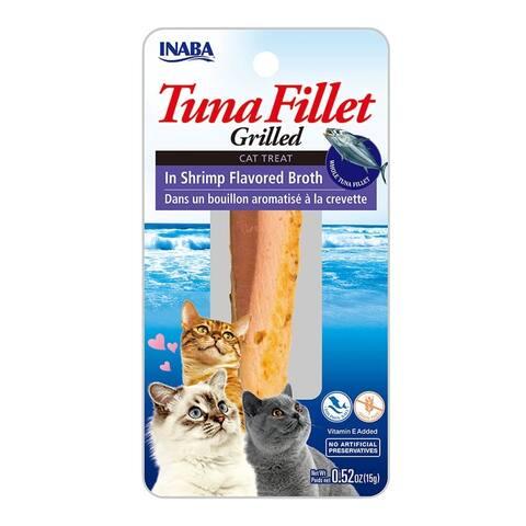 Tuna Fillet in Shrimp Flavored Broth w/ Vitamin E, 15 gm