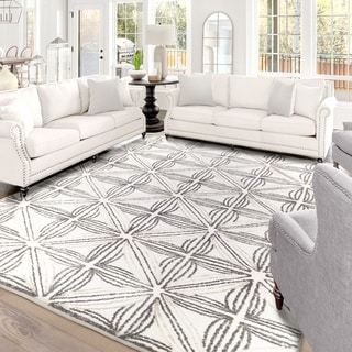 "My Texas House by Orian  Agave Natural Area Rug (5'3"" x 7'6"") - 5'3"" x 7'6"""