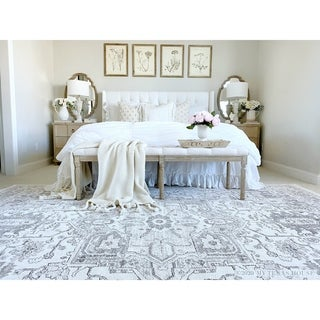 "My Texas House by Orian  Lone Star Belle Natural Area Rug (5'3"" x 7'6"") - 5'3"" x 7'6"""