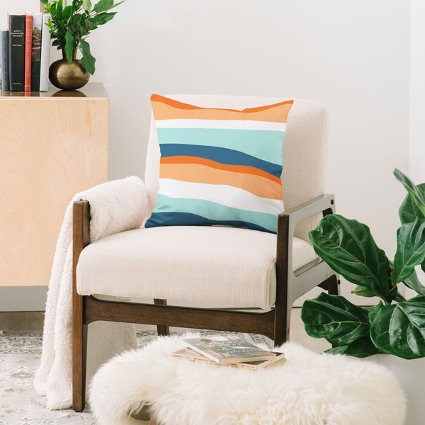 Deny Designs Venice Sunset Throw Pillow (6 size options)