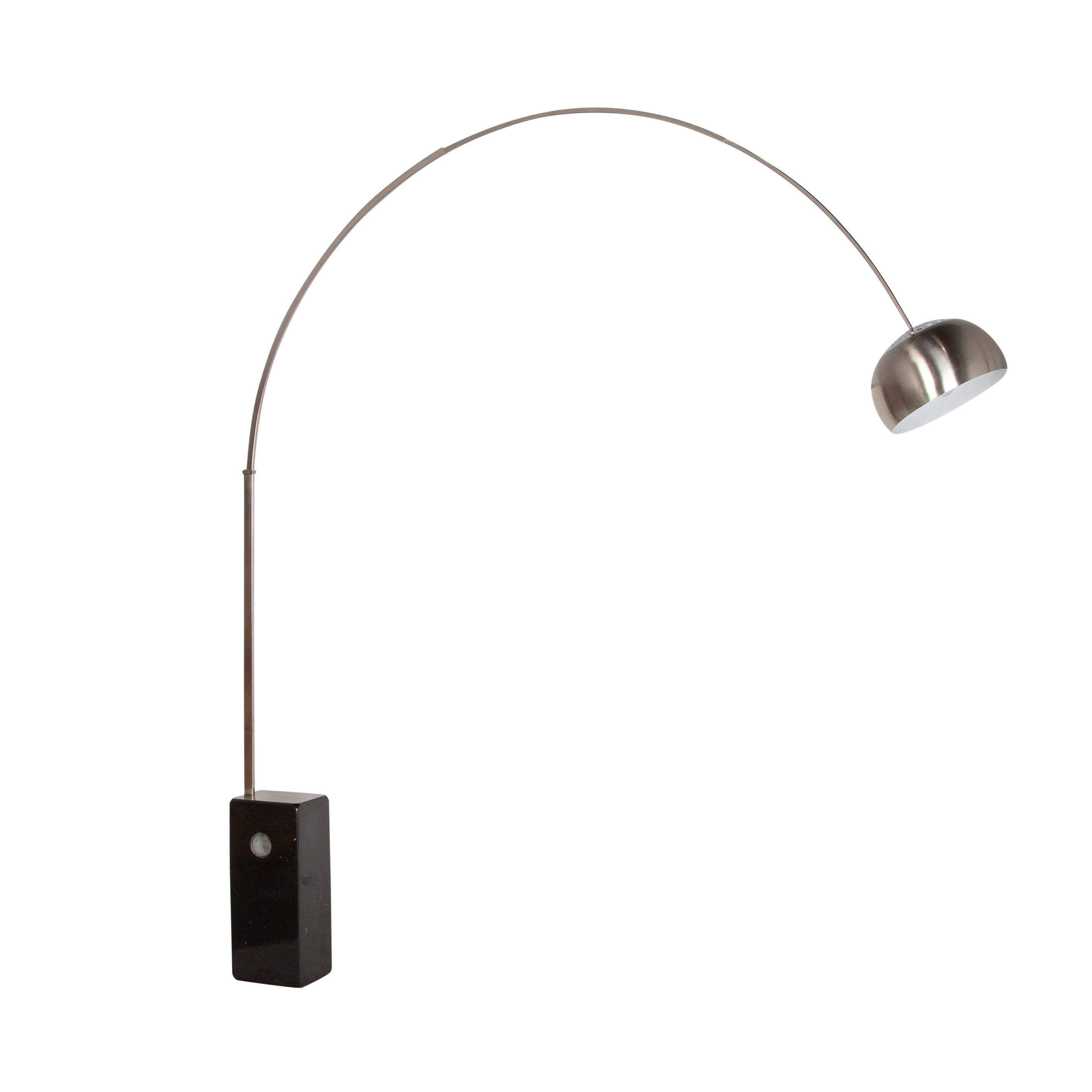 Arco Floor Lamp - Black Marble Base