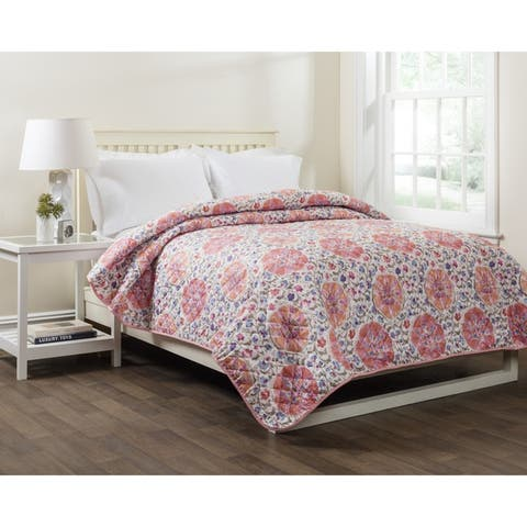 Isaia Floral Full/ Queen Single Quilt