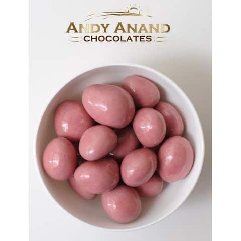 Andy Anand Belgian Milk Chocolate Strawberries 1 lbs Gift Box