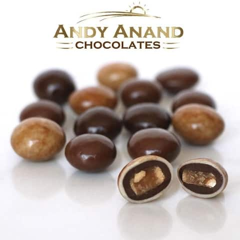 Andy Anand Triple Chocolate Toffee Bridge with Almonds 1lbs