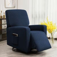 Buy Box Cushion Recliner Covers Wing Chair Slipcovers Online At Overstock Our Best Slipcovers Furniture Covers Deals
