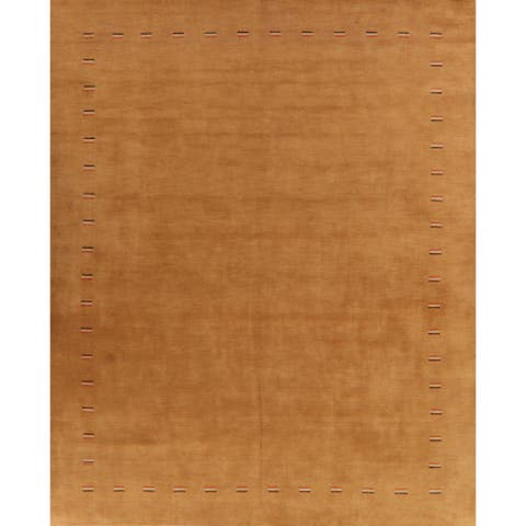 """Eye-Catching Tribal Gabbeh Oriental Living Room Area Rug Hand-Knotted - 10'5"""" x 12'8"""""""