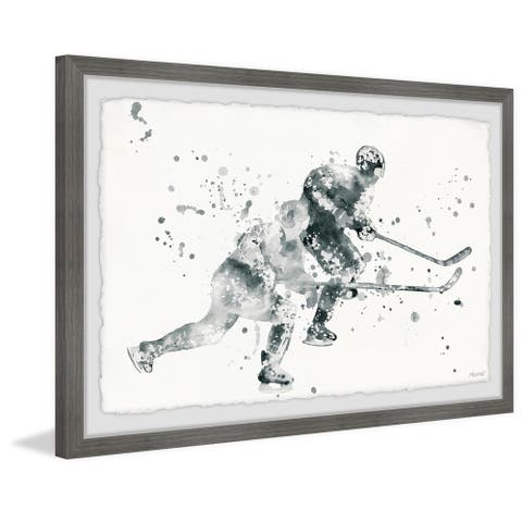 'In Pursuit' Framed Painting Print