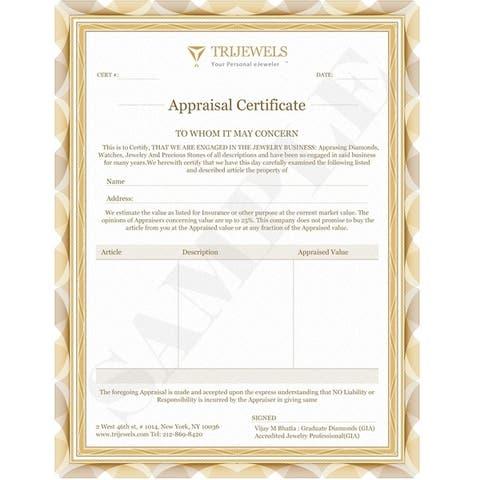 Trijewels Green Garnet Diamond 3/4 ctw Wedding Band 14KY Gold