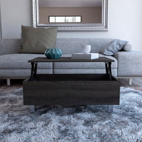 TUHOME Gambia Lift Top Coffee Table