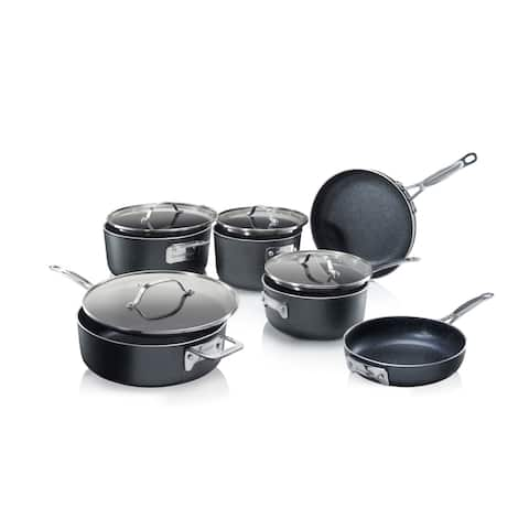 Granitestone Diamond Stackmaster Non Stick 10pc Stackable Set