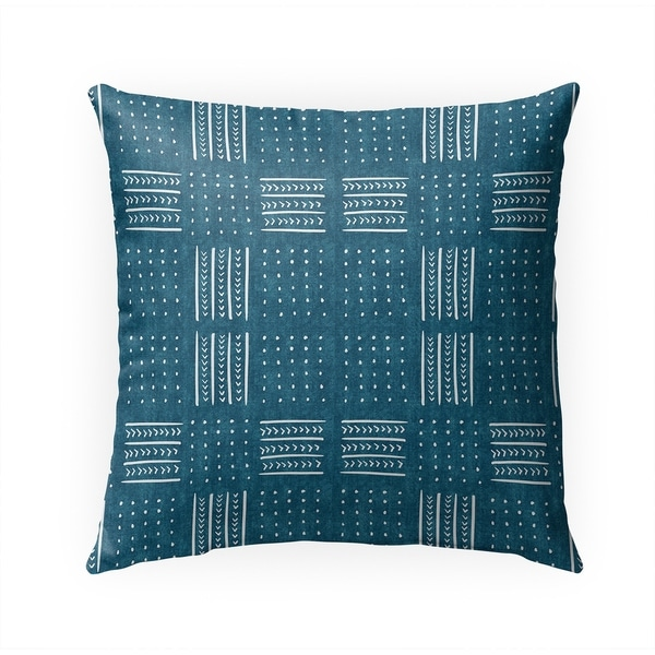 TEAL BASIN Indoor|Outdoor Pillow By Becky Bailey - 18X18
