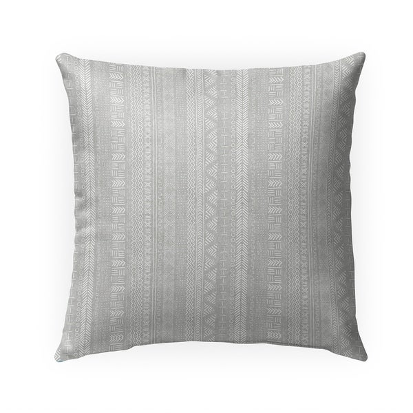 GREY LANDSCAPE Indoor|Outdoor Pillow By Becky Bailey - 18X18