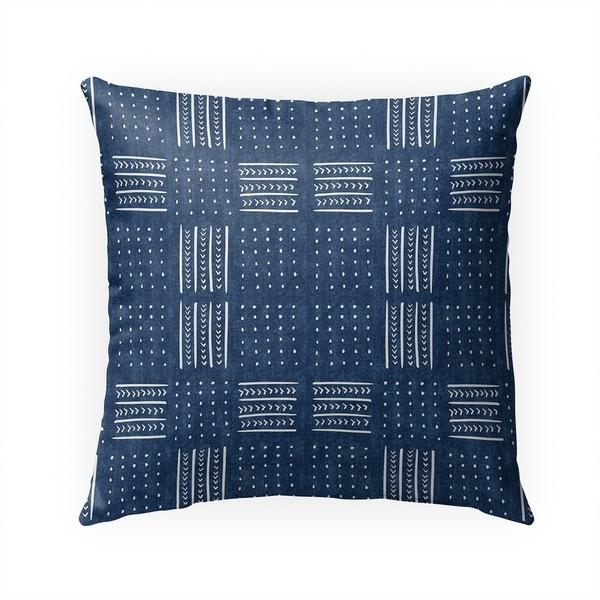 INDIGO BASIN Indoor|Outdoor Pillow By Becky Bailey - 18X18