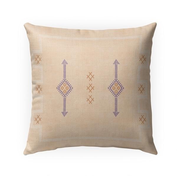 SILK TEA Indoor|Outdoor Pillow By Becky Bailey - N/A - 18X18
