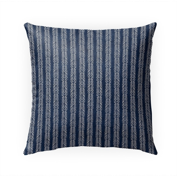 INDIGO WILLOW Indoor|Outdoor Pillow By Becky Bailey - 18X18