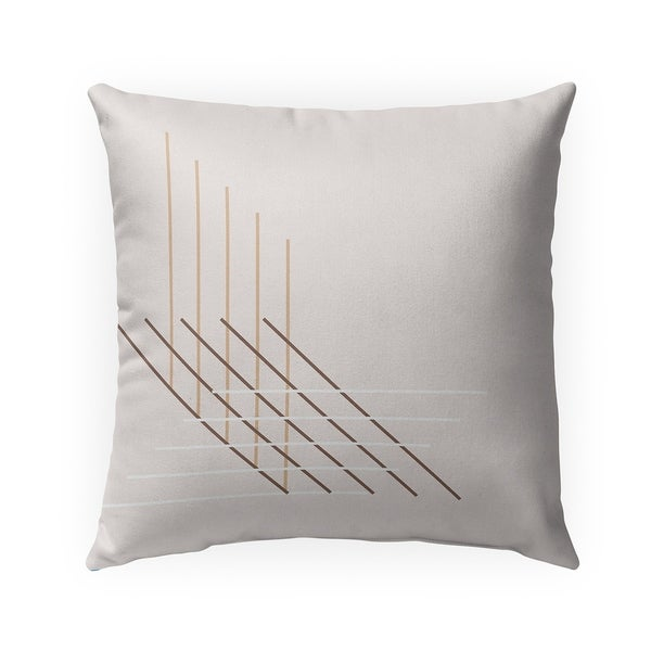 PERSPECTIVE BLUSH Indoor|Outdoor Pillow By Becky Bailey - 18X18