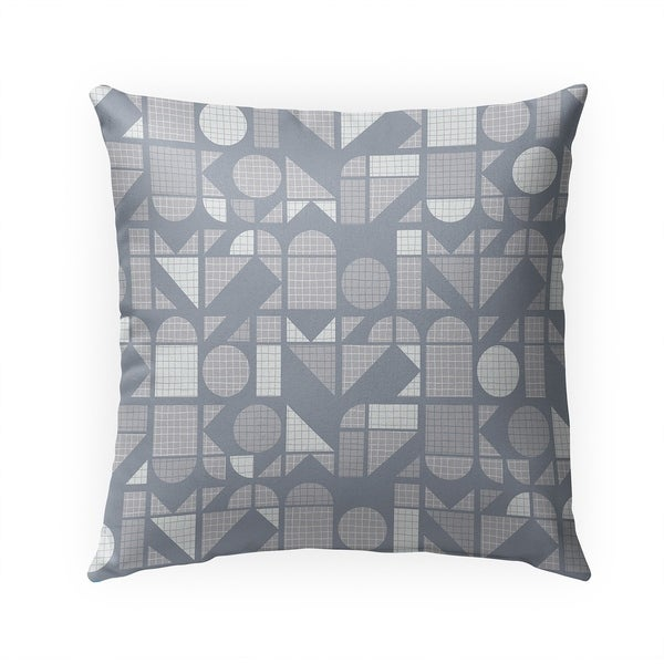 MODERNE CLOUDY SKIES Indoor|Outdoor Pillow By Becky Bailey - 18X18